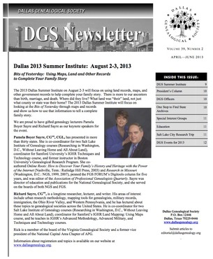 DGS Newsletter 2