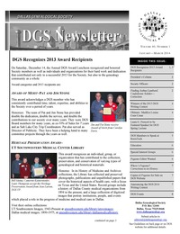 DGS_Newsletter_2014_January_Vol_40_Num_1_Cover 2