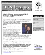 DGS Newsletter