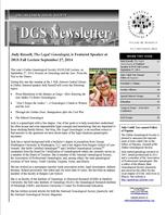 DGSNewsletter-Jul-Sept2014-Cover